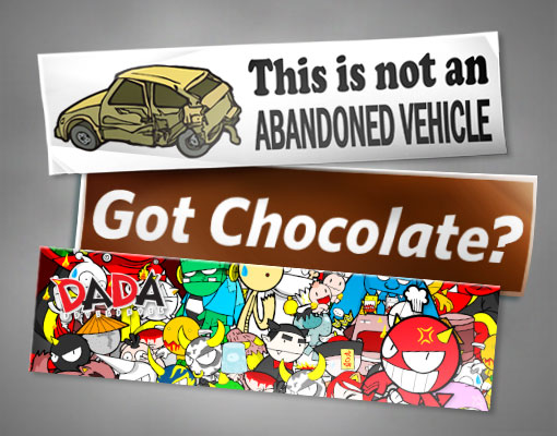 custom bumper stickers picture